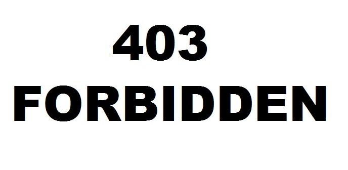 Cara Mengatasi Website Muncul Halaman 403 Error – Forbidden