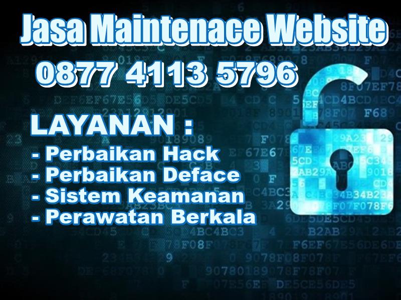 Jasa Perbaikan Website Rusak di Hack Deface